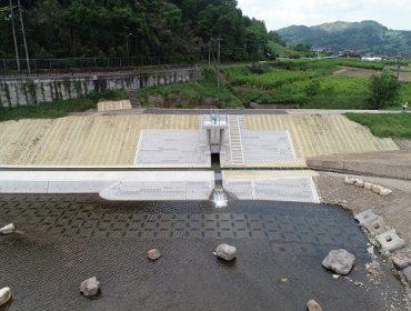大和建設株式会社 令和元年 千代川八日市下井手用水樋門改修