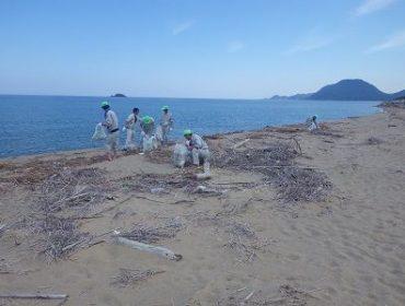 鳥取砂丘秋の一斉清掃