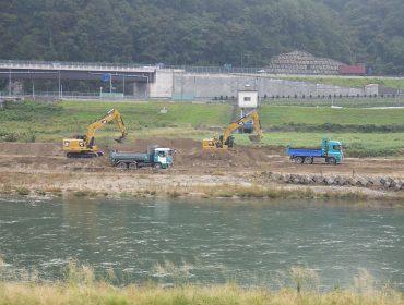 大和建設株式会社 令和元年 千代川袋河原外河道整備