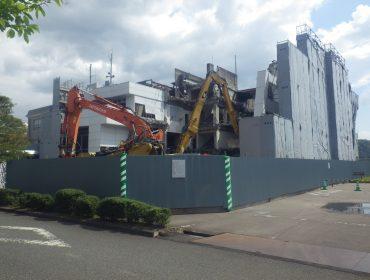 大和建設株式会社 令和2年 旧河原町総合支所本庁舎解体