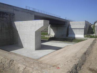 大和建設株式会社 令和2年 鳥取自動車道有富川橋下部
