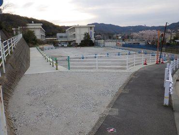 大和建設株式会社 令和2年 浜坂小学校造成