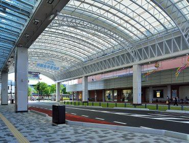 大和建設株式会社 平成25年 鳥取駅前太平線シェルター 「バードハット」