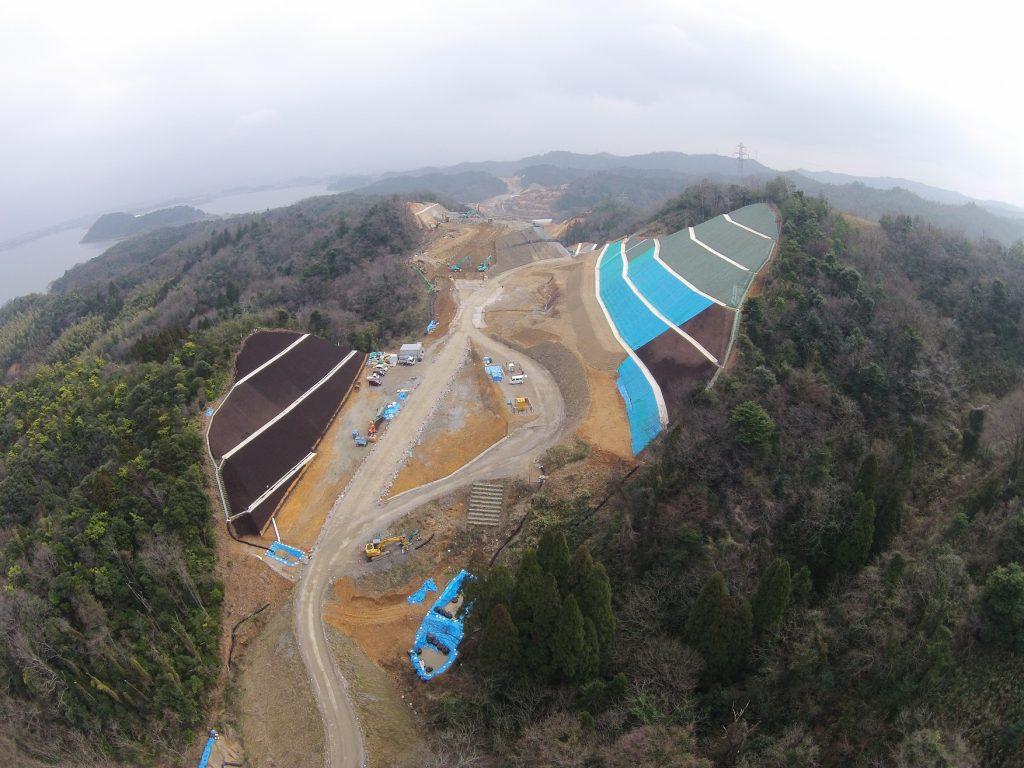 大和建設株式会社 平成28年 鳥取西道路良田第5改良