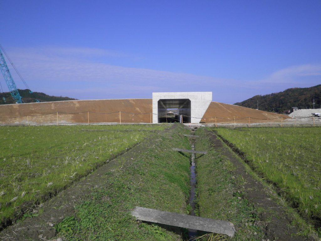 大和建設株式会社 平成26年 鳥取西道路岡木外改良