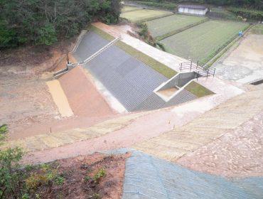 大和建設株式会社 平成24年 清水ヶ谷池ため池改修