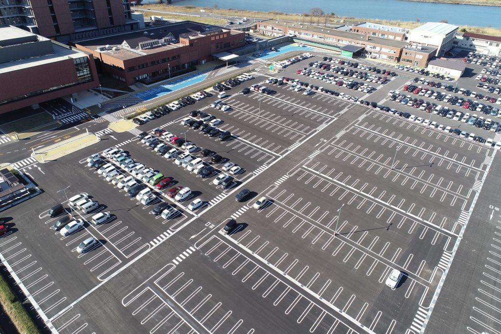 大和建設株式会社 令和3年 県立中央病院駐車場整備
