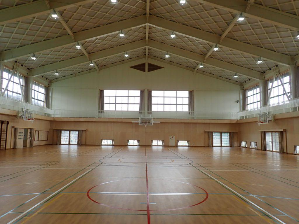 大和建設株式会社 令和3年 鳥取市立浜坂小学校屋内運動場