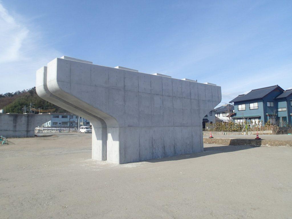 大和建設株式会社 令和3年 国道178号(岩美道路)橋梁下部(2工区)