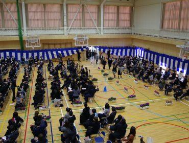 浜坂小学校 祝!卒業式
