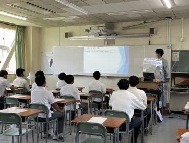 鳥取工業高等学校主催の企業説明会に参加してきました!